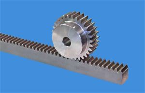 Machining Metal Rack and Pinion